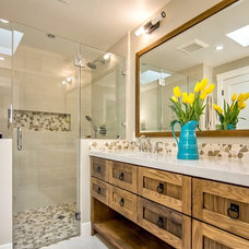 Transitional Bathroom by Bay Area Designs - Jennifer Lee