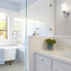 Craftsman Bathroom by Justin Pauly Architects