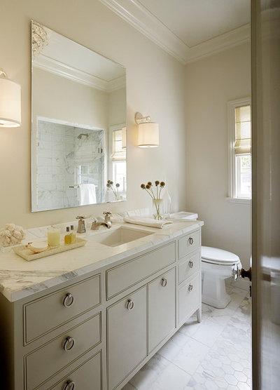 Bathroom cabinet pulls