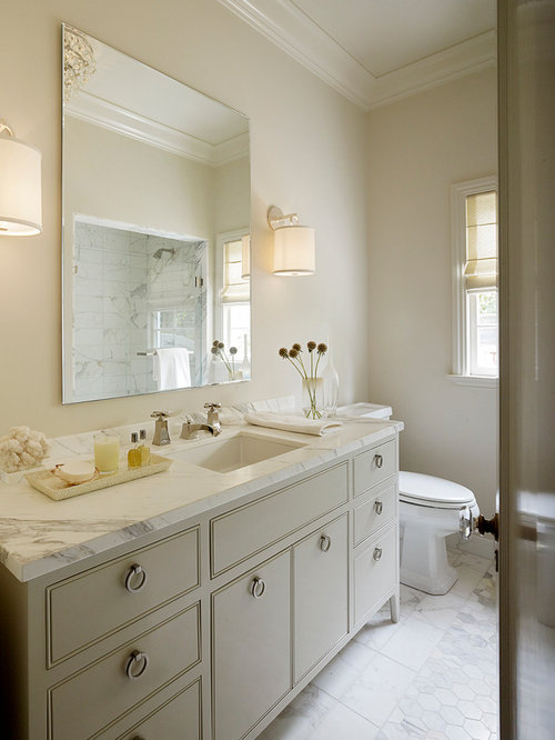 Revere pewter in bathroom