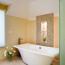 Contemporary Bathroom by McKinney Photography