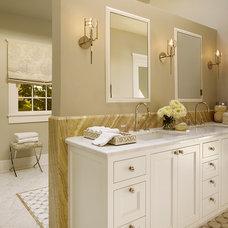 Transitional Bathroom by Coddington Design
