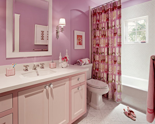 Pink Bathroom Photos. Pink Bathroom Design Ideas   Remodel Pictures   Houzz