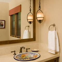 mediterranean bathroom by Jennifer Kesteloot