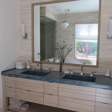 Contemporary Bathroom by Classic Tile and Mosaic