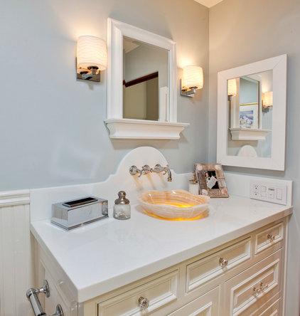 Traditional Bathroom by Luke Gibson Photography