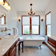 Traditional Bathroom by Luke Gibson Photography