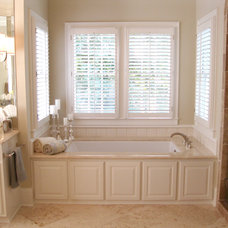 Traditional Bathroom by P.S. Interiors, Inc.