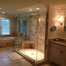 Traditional Bathroom by Tile House
