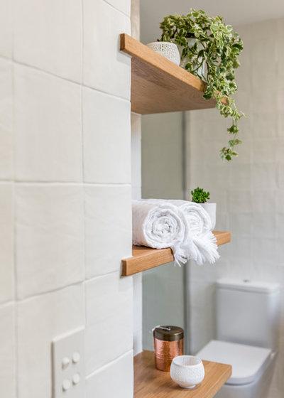 Scandinavian Bathroom by Darren James Interiors
