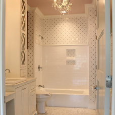 Eclectic Bathroom by Stacy Jacobi