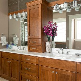 Ispirazione per una stanza da bagno stile americano