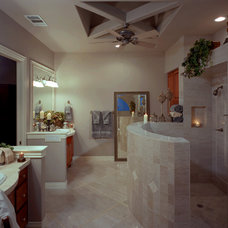 mediterranean bathroom by Rob Sanders Designer - Custom Home/Remodel Design