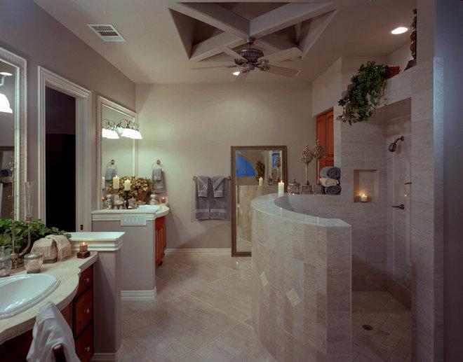 Mediterranean Bathroom by Rob Sanders Designer - Custom Home/Remodel Design