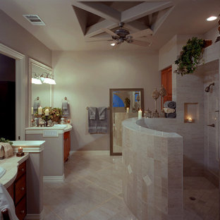 Inspiration for a mediterranean bathroom remodel in Austin