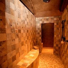 Mediterranean Bathroom by Silver Oak Interiors