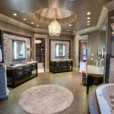 Transitional Bathroom by Jaggers Home Design