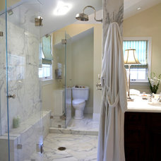 Traditional Bathroom by NORMAN CHARLES CONSTRUCTION