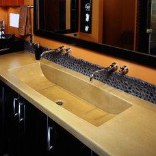 Contemporary Bathroom by ACS Paradise Concrete Design Studio