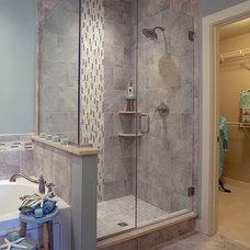 Transitional Bathroom by Jagoe Homes Inc