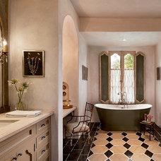 Mediterranean Bathroom by Calvis Wyant Luxury Homes