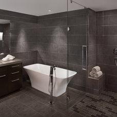 Contemporary Bathroom by Fannin Interiors