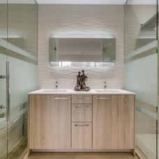 Contemporary Bathroom by PENTAL GRANITE & MARBLE
