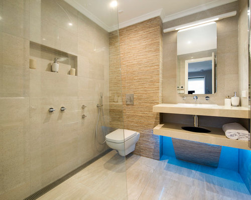 Small luxury bathroom houzz for Small luxury bathrooms ideas