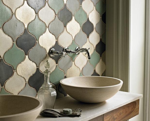 エクレクティック 浴室 by AGA & Fired Earth Danmark