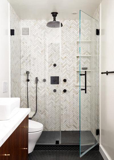 Contemporary Bathroom by Fowlkes Studio