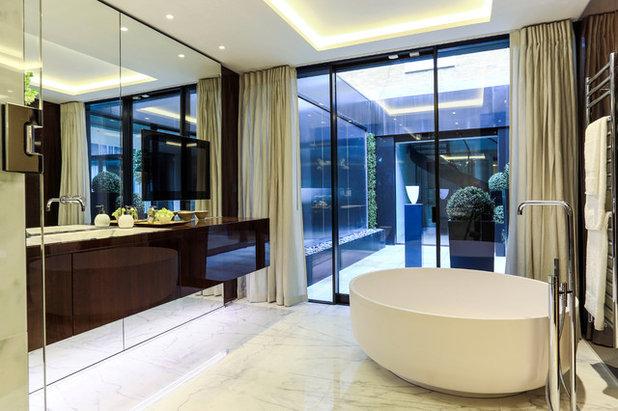 Superb Contemporary Bathroom by Portland Decorating and Design Ltd