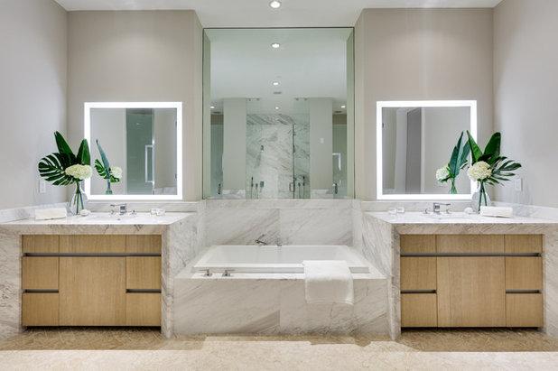 Современный Ванная комната by Italkraft