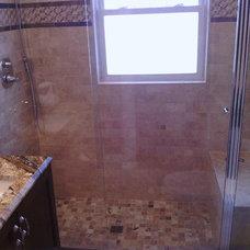 Contemporary Bathroom by O'Brien Construction Inc