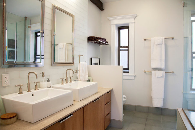 Contemporary Bathroom by Fox Force Five Construction