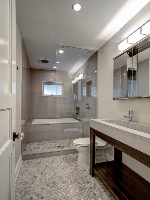 Design Ideas For Long Bathrooms ~ Long narrow bathroom home design ideas pictures remodel