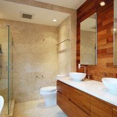 Contemporary Bathroom by Soluri Architecture