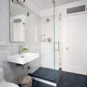 Park Slope Classic 7 renovation Guest Bathroom