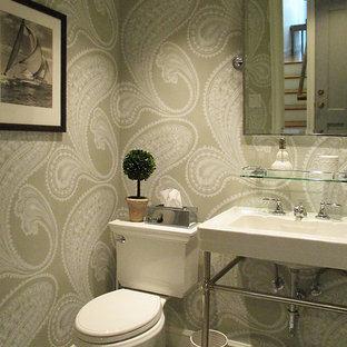 Bathroom - modern bathroom idea in New York