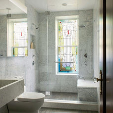 Contemporary Bathroom by Delson or Sherman Architects pc