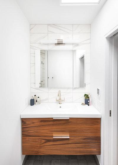 Contemporary Bathroom by Ben Herzog