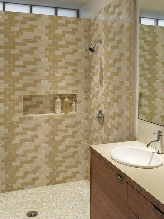 Bathroom Tiles Horizontal horizontal tile layout   houzz
