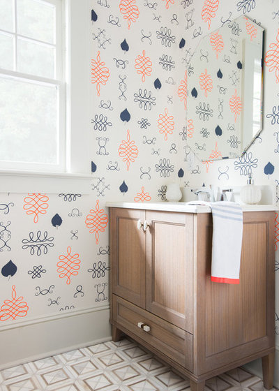 Transitional Bathroom by Roost Interiors