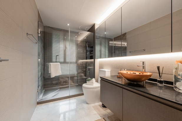 Contemporary Bathroom by Mr Shopper Studio