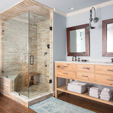 Rustic Bathroom by Fifer Renovations