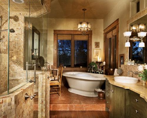 Limestone Shower Houzz