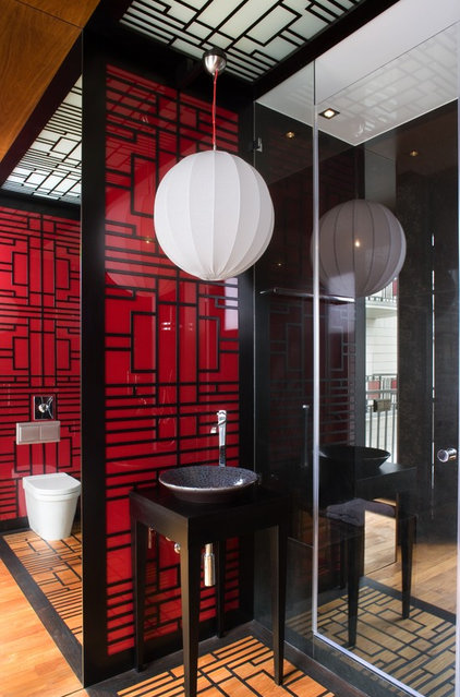 contemporary bathroom by EXIT Interior Design Studio