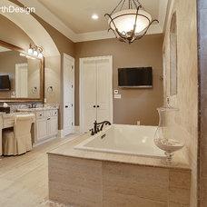 Traditional Bathroom by Hollingsworth Design