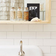 eclectic bathroom by Jenn Hannotte / Russet and Empire Interiors