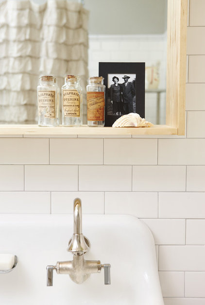 eclectic bathroom by Jenn Hannotte / Hannotte Interiors