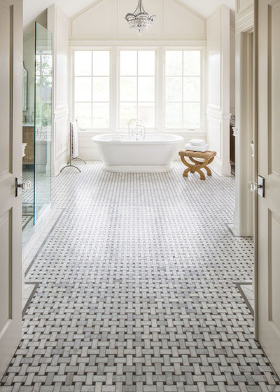 traditional bathroom by tarkus tile inc